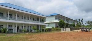 SMK Negeri 3 Tanah Grogot yang membuat Pemda Paser harus berutang Rp26 Miliar. (Rapal JKN - Hello Borneo)