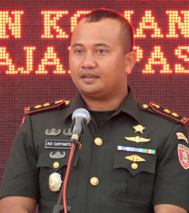 Komandan Kodim (Dandim) 0913 Penajam Paser Utara, Letkol Czi Adi Suryanto