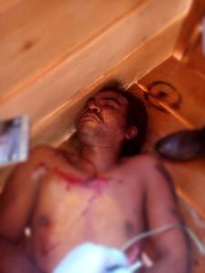 Korban perampokan yang menggegerkan Kabupaten Paser. (Rapal JKN - Hello Borneo)