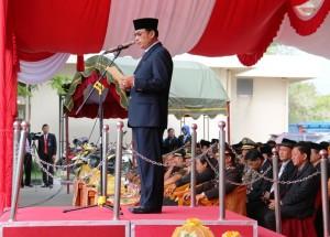 Hari Pahlawan, Pemkab PPU melaunching buku sejarah PPU. (Subur Priono - Humas Setkab PPU)