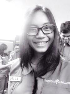 Fidella Anandhita rela mengajar ke pelosok Kabupaten Paser, Kalimantan Timur. (Rapal JKN - Hello Borneo)