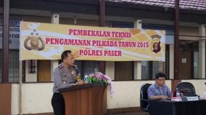 Hadapi Pilkada Polres Paser Gelar Pembekalan. (Rapal JKN - Hello Borneo)