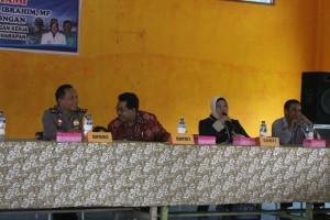 Kunjungan kerja Pj Bupati Paser, Ibrahim ke Tanjung Harapan. (Rapal JKN - Hello Borneo)