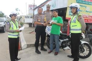 """Program baru Satlantas Polres Paser """"SIM Card Delivery"""" diluncurkan. (Rapal JKN - Hello Borneo)"""