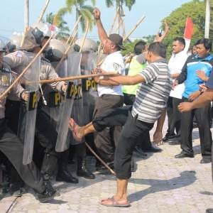 Polres Paser menggelar Gladi Sispam Kota, (Rapal JKN - Hello Borneo)