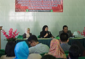 KPID Kaltim gelar Sosialisasi Undang-undang Nomor 32 Tahun  2009 tentang Penyiaran. (Suherman - Hello Borneo)