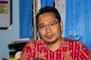 Kepala UPT Jamkesda, Ahmad Padaelo