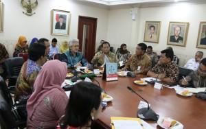Rakor Kunjungan Jokowi di Sekretariat Kepresidenan. (Subur - Humas Setkab PPU)