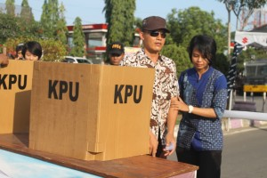 Angka golput di Kabupaten Paser masih tinggi. (Rapal JKN - Hello Borneo)