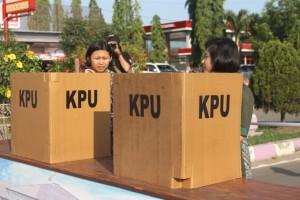 Kodim Tanah Grogot beserta KBO siap amankan Pilkada Paser. (Rapal JKN - Hello Borneo)