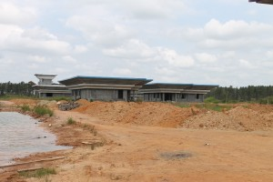 Bandara Kabupaten Paser yang di bidik Polda Kaltim. (Rapal JKN - Hello Borneo)
