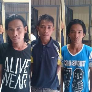 Pelaku Illegal Logging Kabupaten Paser. (Rapal JKN - Hello Borneo)