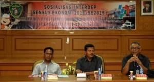 BPS Kabupaten Penajam Paser Utara, Kalimantan Timur, melakukan sosialisasi kegiatan sensus ekonomi. (Iskandar - Humas Setkab PPU)