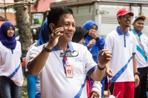 Kepala Dinas Kesehatan Kabupaten penajam Paser utara, Arnold Wayong (Suherman - Hello Borneo)
