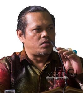 Ketua Komisi Peyiaran Daerah Kaltim Jefry Nainggolan (Suherman - Hello Borneo)