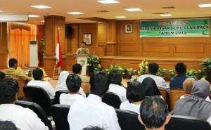 Pemerintah Kabupaten Penajam Paser Utara menggelar pelatihan dasar guru olahraga (Subur Priono - Humas Setkab Penajam Paser Utara)