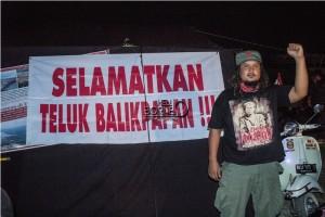 Anggota Komunitas Vespa sangat peduli lingkungan (Suherman - Hello Borneo)