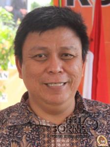 Ketua KPU Paser, Eka Yusda Indrawan (Rapal JKN - Hello Borneo)