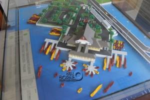 "Maket rencana pembangunan Pelabuhan ""Speedboat"" di Kecamatan Penajam, Kabupaten Penajam Paser Utara (Suherman - Hello Borneo)"