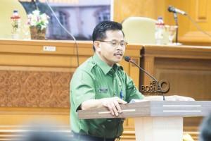 Pelaksana Tugas Sekretaris Kabupaten Penajam Paser Utara, Tohar (Suherman - Hello Borneo)