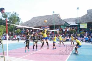 Turnamen  SMANSA Cup XIV yang digelar SMA Negeri 1 Long Ikis, Kabupaten Paser (Rapal JKN - Hello Borneo)