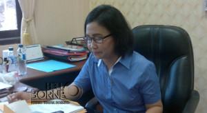 Kasat Reskrim Polres Penajam Paser Utara, Ajun Komisaris Cheery Sinta Simamora (AH Ari B - Hello Borneo)