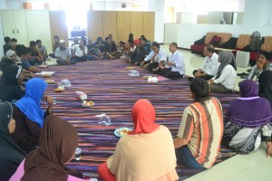 40 KK menerima dana rehab Rumah Tidak Layak Huni (RTLH). (MR Saputra - Hello Borneo)