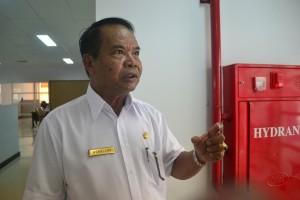 Kepala Desa Tepian Batang, Kabupaten Paser, Kalimantan Timur, Asbullah. (MR Saputra - Hello Borneo)