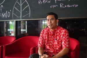 Arief Faisal, General Manager (GM) Hotel Kriad Sadurengas Paser. (MR Saputra - Hello Borneo)