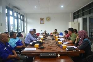 Rapat usulan kenaikan Harga Eceran Tertinggi (HET) LPG 3 kg di Kabupaten Paser. (MR Saputra - Hello Borneo)