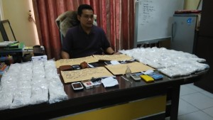 Polres Samarinda ungkap kasus narkoba. (MR Saputra - Hello Borneo)