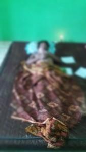 Korban tenggelam di kolam bekas tambang. (AH Ari B - Hello Borneo)