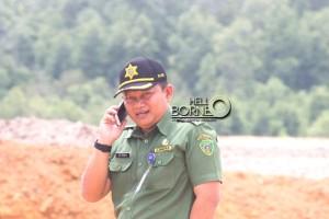 Kepala Dihubbudpar Kominfo Kabupaten Penajam Paser Utara, Ady Irawan (Suherman - Hello Borneo)