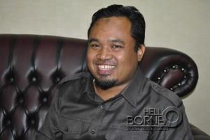 Ketua Badan Legislasi Daerah DPRD Kabupaten Penajam Paser Utara, Wakidi (AH Ari B - Hello Borneo)