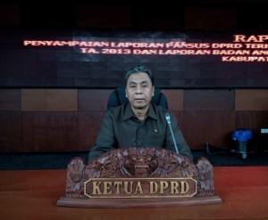 Ketua DPRD Kabupaten Penajam Paser Utara, Nanang Ali (Bagus Purwa - Hello Borneo)