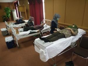 Aksi donor darah yang digelar Pemerintah Kabupaten Penajam Paser Utara (AH Ari B - Hello Borneo)