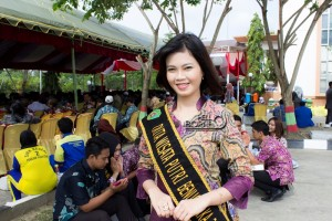 Duta Wisata 2015 Kabupaten Penajam Paser Utara, Yana Risqi (Suherman - Hello Borneo)