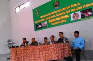Kegiatan sosialisasi pencegahan narkoba di kalangan pelajar yang digelar Kecamatan Penajam Kabupaten Penajam Paser Utara (Subur Priono - Humas Setkab Penajam Paser Utara)