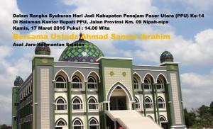 Masjid Agung Kabupaten Penajam Paser Utara (Subur Priono - Humas Setkab Penajam Paser Utara)