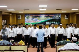 Pelantikan pengurus BKPRMI Kabupaten Penajam Paser Utara, periode 2016-2019 (Suherman - Hello Borneo)