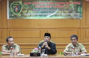 Rapat penetapan TBS kelapa sawit Provinsi Kaltim di Kabupaten Penajam Paser Utara (Iskandar - Humas Setkab Penajam Paser Utara)