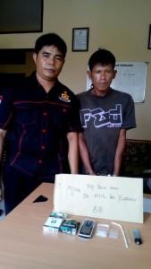 Warga Samarinda Adl ditangkap Satreskoba Polres Penajam Paser Utara, terkait penyalahgunaan dan peredaran narkoba (Ist)