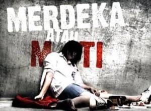 Slogan kampanye narkoba (dok Humas Setkab Penajam Paser Utara)