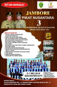 Jambore Pikat Nusantara ke-3 2016 (Suherman - Hello Borneo)