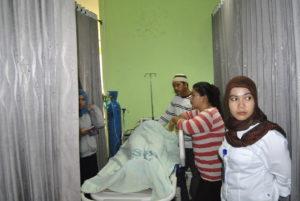 Jenazah Supriyadi di ruang IGD RSUD Kabupaten Penajam Paser Utara (AH Ari B - Hello Borneo)