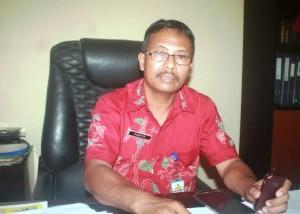 Kepala Kantor Ketahanan Pangan dan Penyuluhan Kabupaten Penajam Paser Utara, Surito Widarie (Subur Priono - Humas Setkab Penajam Paser Utara)