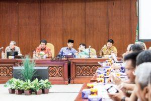 Rapat pemantapan pelaksanaan Pekan Daerah KTNA ke-9 tingkat Provinsi Kalimantan Timur, di Kabupaten Penajam Paser Utara (Suherman - Hello Borneo)