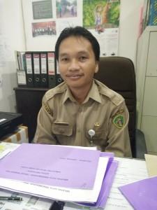 Kepala Bidang Peternakan dan Kesehatan Hewan Dinas Pertanian dan Peternakan Kabupaten Penajam Paser Utara, Arief Murdiyatno. (AH Ari B - Hello Borneo)