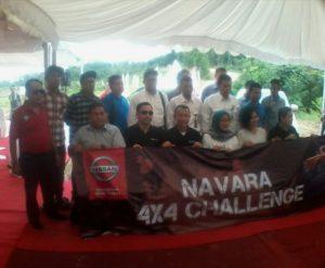PT. Nissan Motor Indonesia bersama perwakilan media.  (Ramadhanesia - Hello Borneo)
