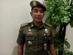 Kepala Satuan Polisi Pamong Praja Kabupaten Penajam Paser Utara, Budi Santoso (AH Ari B - Hello Borneo)